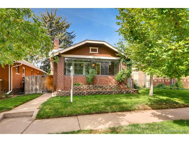 Picture of a home located at 275 South Washington Street Washington Park Denver CO