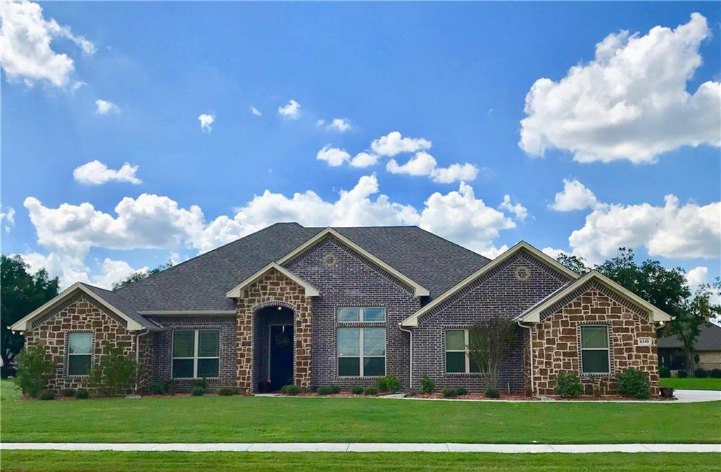 Boomers, Millennials, All ages love Pecan Plantation!*Resort amenities*Art*Dinner shows*Fashion &Clubs*2 Golf Courses*Boating*Marina*Swimming*Horses*Camping*Country Club*Delicious food & parties*Parades*Fitness Club*Running track*Tennis*Garden Club*Gorgeous sunrises and sunsets*This Gorgeous European Mediterranean designed home is delightful*Transferred owner of this barely lived in home has installed drapery*blinds*Updated landscaping*Accent painted walls*Enjoy the spacious kitchen area with bar*Stainless steel appliances*Beautiful master bedroom*Gated*guarded front and back entrances*Convenient to museums & entertainment in Ft. Worth& Granbury* Owner says sell*make offer! Transfer is pending, the time is now!