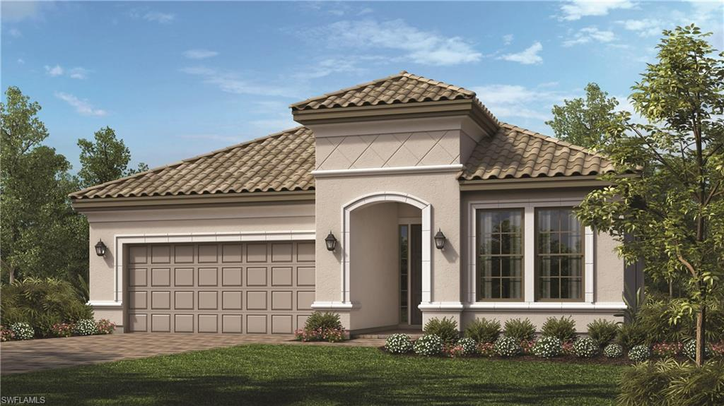 Under Construction - Santini Floor Plan - PHOTOS OF MODEL HOME- NOT ACTUAL HOME- READY in December -  3 Bedroom, 3 bath with a den. Beautiful Custom Pool.  Gourmet Kitchen ,roughed for outdoor kitchen, Crown Molding Throughout Loaded with upgrades.   Call sales center for details.