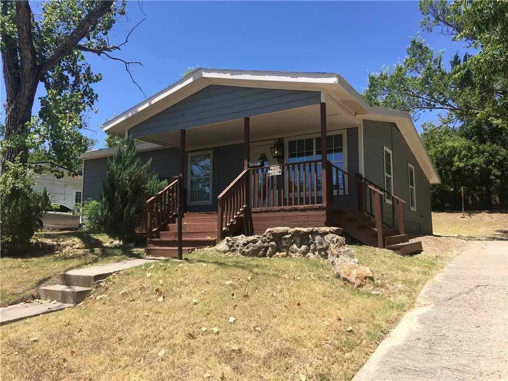 Cute starter home in a HOT LOCATION! This adorable home has so much potential, and is right off of 199 which allows quick commute to Downtown Fort Worth. Fresh new paint throughout house and granite counter tops. Enjoy the view from your covered porch or a cookout in the huge back yard!