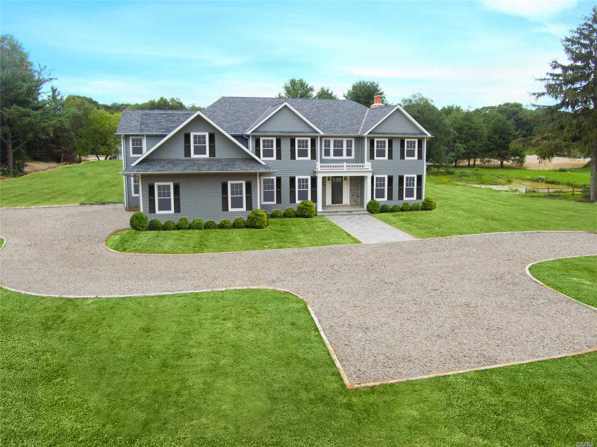 New Construction. Beautiful 6 Bedroom, 5.5 Bath Colonial Located On 4.8 Pristine Acres With A Pond. 3 Bedroom 2 1/2 Bathroom Guest Cottage On Property Also.  Close To Rr And Oyster Bay Beaches. Taxes To Be Determined After Construction Is Finished.