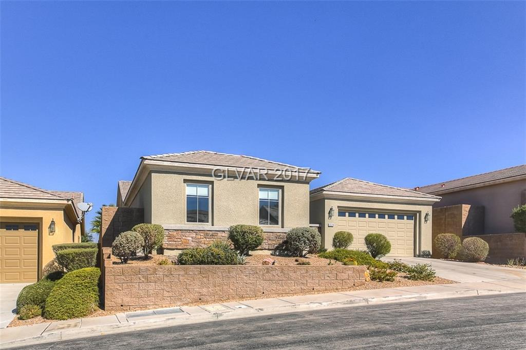 Anthem Highlands 3 bed, 3 bath home w/luxury upgrades. Fresh 2-tone paint, tile flooring & newer carpet. Great room w/fireplace. Upgraded kitchen w/nook, breakfast bar, wood cabinets & dark granite counters. Master bed w/sliding glass doors. Master Bath w/double sinks, designer tile detailing on the tub & in the shower. Large casita w/full bath. Backyard w/full length covered patio, lush landscaping on elevated lot w/mountain views.
