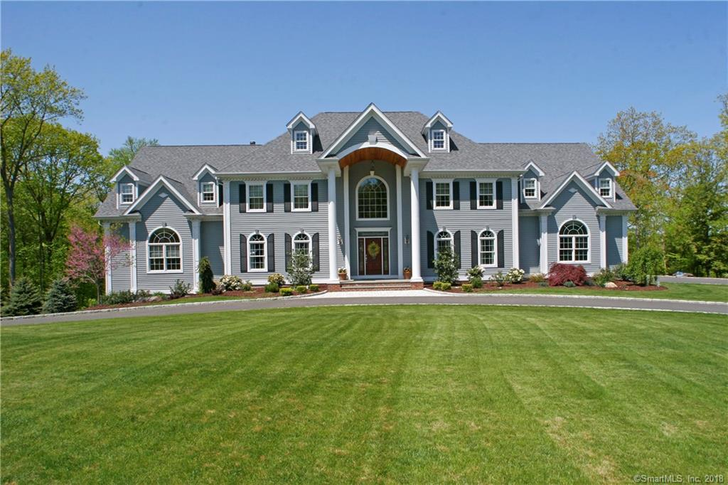 Stunning 5200 sq. foot builders own custom colonial, 2 Master suites, 1 on first floor and 1 on second, 6 car over sized garages, completely separate entrance to 2nd floor could be in-law setup, extensive trim package, Sub zero fridge, Wolf oven, custom kitchen, 2 laundry rooms, High efficiency Hvac, sprinkler system, gazebo