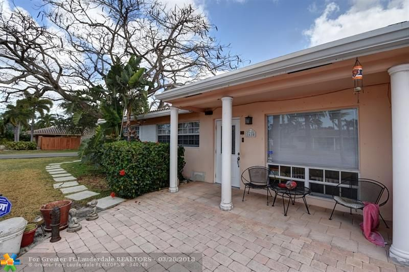 Great 3 bedroom, 2 full bath home located in the heart of desirable Coral Heights in Oakland Park. Never worry about a power outage again! Full-house, built-in generator with direct natural gas connection will keep your power on. Large, screened and tiled outdoor patio is perfect for entertaining. Other features include remodeled kitchen with granite counters and stainless steel appliances, tankless water heater. Converted office includes built-in cabinets. Convenient location, less than 3 miles to the beach!