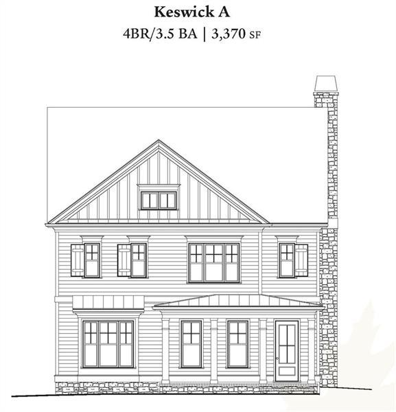 1882 NE Keswick Lane, Atlanta, GA 30341