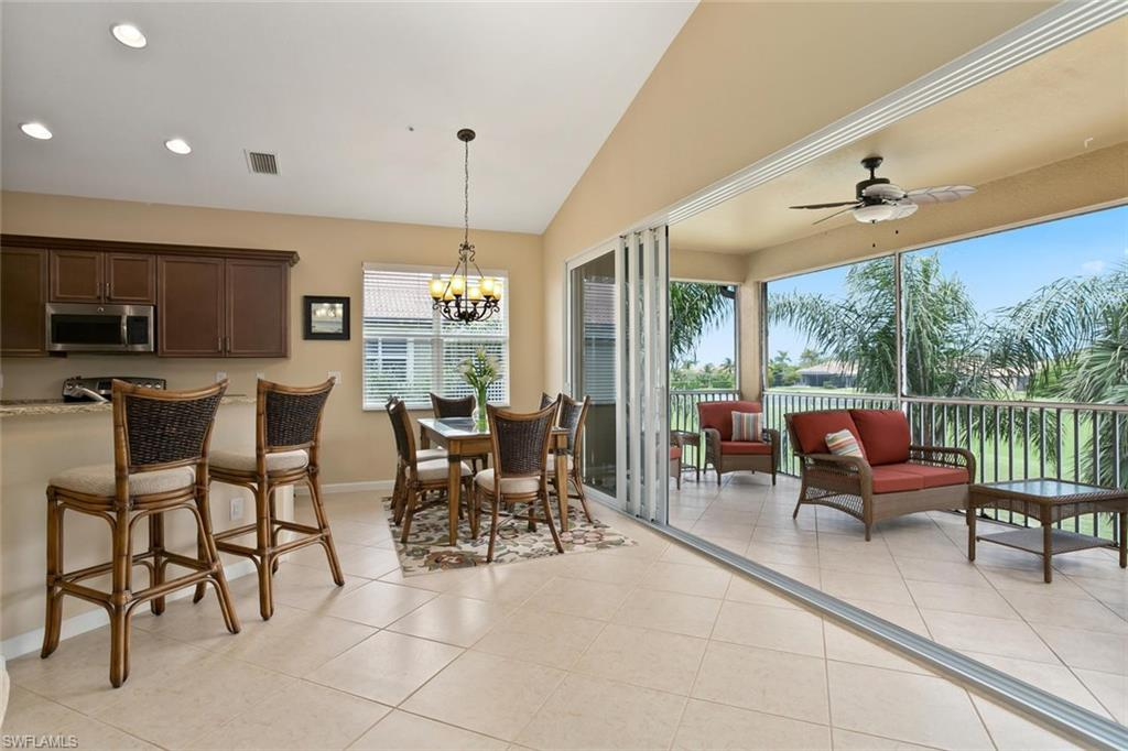Alden Woods Coach Home Just Listed In Lely Resort| Top Floor Furnished