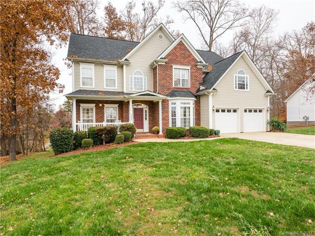 .47 acre in desirable Oxfordshire/Covered front porch/Large Deck w/picturesque view/Privacy/Extra long driveway/Huge Gourmet Kitchen w/Island, w/eating area, Granite counters, S/S appls./ Formal Dining Room w/bay window/Dual staircase/2 story foyer/Huge Master Ste. w/deluxe Mstr. Bath w/separate vanities, Garden Tub and separate shower, w/adjacent sitting area/Large Great Room w/fireplace/Hardwood floors on main/Office on main w/bay window/IMMACULATE/NEW ROOF 2016/Easy access to 485 & 51.