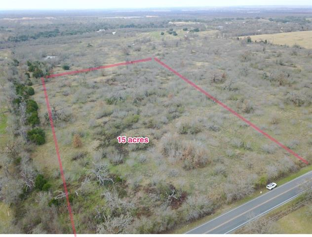 Unique property minutes from the airport and close to Austin proper, yet you can get a feel like you are out in the country.  Land is approximately 15 acres.  A survey is needed and price is not dependent on acreage.  Mixed trees with many oaks.  Barbed wire fence on several sides. 15 acres north of this property available as well.