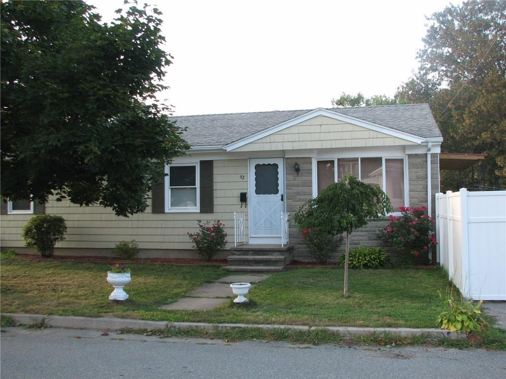 42 MONTICELLO ST, North Providence, RI 02904