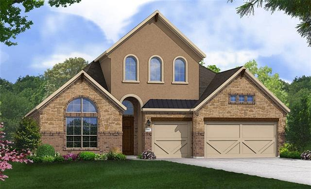 Popular Model Villanova Floorplan! One story with 4 bedrooms and 3 bathrooms, fireplace in family room, and gameroom. Master Bedroom Bay Window, Extended Covered Patio, Granite Countertops, Custom Tile Backsplash, Full Sprinkler/Sod in Front & Rear Yards. See Agent for Details on Finish Out. Available October.
