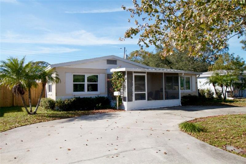 Welcome to this beautifully maintained and updated home.  A true three bedroom pool home.  Very recent updates include hurricane rated windows, a newer roof,  a new air conditioning unit, an updated bathroom, and a new fence.  You enter the home through a charming front porch.  The home has a living room and a separate family room which would be great for entertaining.  Nice size bedrooms, a utility area for your laundry, good storage, a screen enclosed porch with a swimming pool and a good size shed.  Truly a wonderful home to entertain in.  Convenient to major thoroughfares, close to the Gulf Beaches and no flood insurance is required.  Come see this great home today before it is too late!