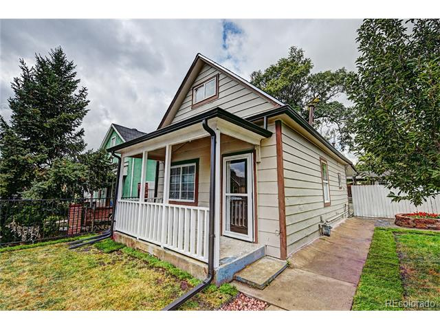 Image of a house in 4647 Lincoln Street Globeville Denver CO