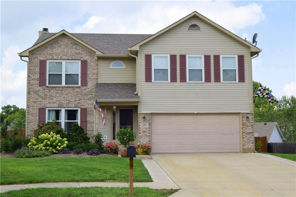 Right out of Homes and Garden Magazine this stunning 2 story home is sure to be a show stopper! Over 3000 sqft of living space, 4 Bdrms, 3.5 baths, & full fin bsmnt this home has all of the amenities you can imagine! Spacious open floor plan design w/ gorgeous hardwood flrs that span the entire ML. Large Grt Rm w/ pallet wall & masonry fireplace opens up to the Din Rm, & newly remodeled Kitchen w/ granite counter tops, refinished cabinets, & recent appliances! On the 2nd level you have a huge Mstr Ste w/ WIC, prvt bath w/ dual vanity & jacuzzi tub! Relax in your professionally landscaped back yard oasis featuring a brand new stamp-crete patio w/ builtin fire pit, completely privacy fenced rear yard, & tons of outdoor entertaining space!