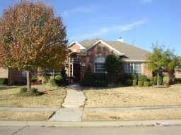 Hard to find 4 BR in Fairways of Ridgeview.  4th BR can be study. Den has wall of windows overlooking pretty back yard.  Split master has sep tub and shower.  Kitchen has loads of cabinets, lots of storage thru out the home.  Fresh paint and all new carpet, ready for you.