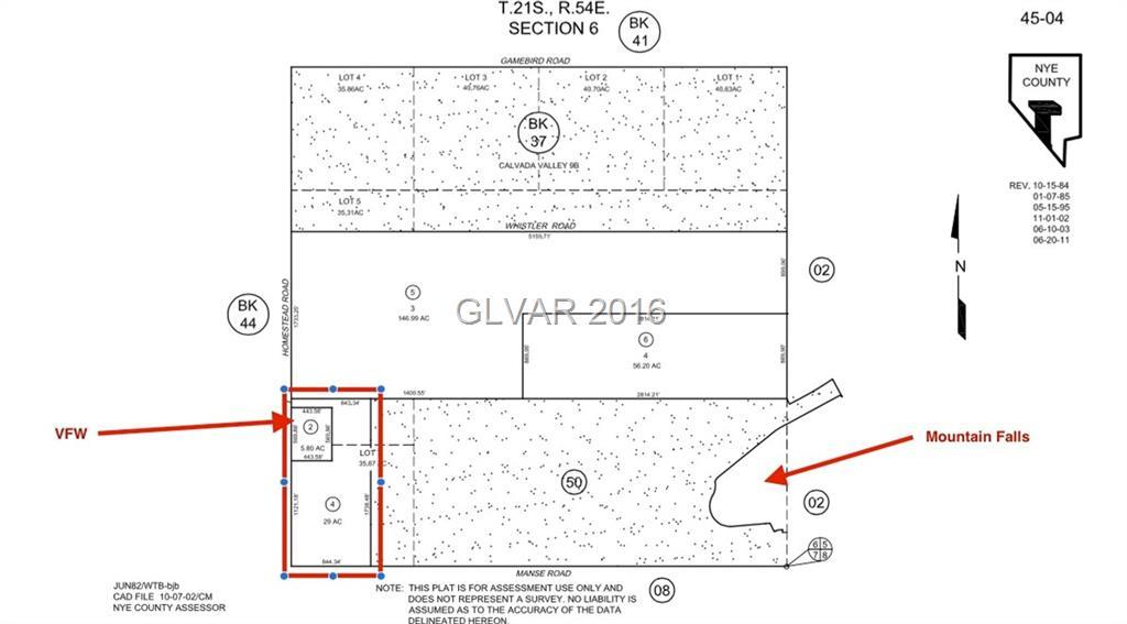 Pahrump Real Estate: 4801 S HOMESTEAD NV 89061 $500,000