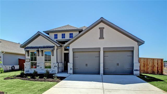 PERRY HOMES NEW CONSTRUCTION! Library with ceramic tile floor and French doors. Family room with ceramic tile floor and a wall of windows. Kitchen features corner walk-in pantry. Master bedroom with a wall of windows and double door entry to the master bath. Master bath includes dual vanities, garden tub, separate glass-enclosed shower and walk-in closet. Extended covered backyard patio. Two-car garage.