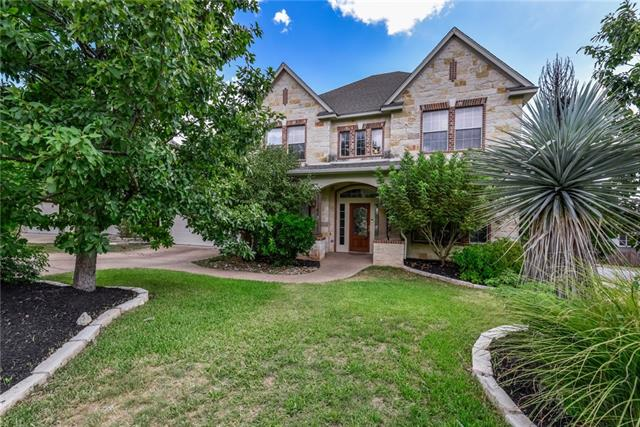 Spectacular views of downtown Austin and surrounding hill country from 3rd floor bd rm. This 5 bd, 4.5 ba, 4066 sf open floor plan home has soaring ceilings and plentiful natural light. Additional rooms include a study, formal dining and game rm. Some upgrades/features include 1st flr master, gas log fireplace, wood flrs, instant hot water, center island gas cook top, all new interior paint and more. 3rd flr bd rm has its own full bath. Home is nicely shaded, landscaped and offers fantastic schools!
