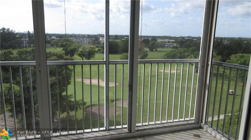 HIGH 8TH FLOOR CORNER WITH SPECTACULAR SOUTH GOLF COURSE VIEWS & CITY SKYLINE, APPROXIMATELY 1500 SQ FT,THIS IS AN ESTATE SALE, USED SEASONALLY FOR PAST 15 YEARS,CLOSE TO BEAUTIFUL COMMUNITY POOL,SECURED LOBBY ENTRANCE, A/C REPLACED IN 2013,READY FOR YOUR REDECORATING ,PRIME ASSIGNED PARKING SPACE # 12 IN FRONT OF BUILDING PLUS PLENTY OF GUEST PARKING,CORNER MASTER BEDROOM WITH WALK-IN CLOSET, 3RD BEDROOM OPEN TO LIVING ROOM ALSO A CORNER OVERLOOKING GOLF COURSE,TRASH CHUTE & LAUNDRY ON SAME FLOOR,SHOPPING,CASINO CLOSE BY ,5 MINUTES TO I-95 OR TURNPIKE,10-15 MINUTES TO BEACH,20 MINUTES TO DOWNTOWN FORT LAUDERDALE / LAS OLAS BLVD,STORAGE SPACE,EASY TO SHOW, FURNISHINGS NEGOTIABLE,ASSOCIATION REQUIRES 20% MINIMUM DOWN PAYMENT IF OBTAINING A MORTGAGE, ASSOCIATION SAYS MINIMUM 650 CREDIT SCORE
