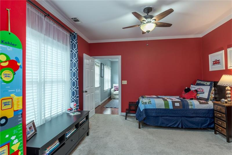 Add'l view of 2nd spare bedroom on main level!