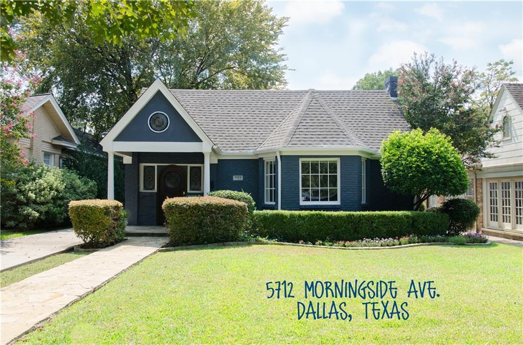 5712 Morningside Avenue, Dallas, TX 75206