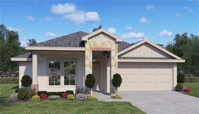 BRAND NEW HOME READY FOR MOVE IN!  Stunning curb appeal and Bermuda grass surrounding the whole home edged by a 6' wooden fence in the spacious backyard. The Riverwalk community embraces the essence of the Hutto Lifestyle.