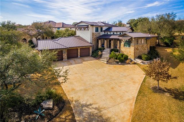 Gorgeous Custom Home on .96 acres in the UT Golf Course! Open floor plan w/ stunning kitchen- commercial grade SS appliances, granite and beams! Master retreat down + 2nd bed/bath & study. Gameroom w/ barn wood wall, media w/ custom barn doors, + 2 beds/2 baths. Tons of storage throughout the home! Outdoor Oasis w/ 840 sq ft covered patio, built in BBQ, sink, and ice chest + stunning pool & spa w/ plenty of yard for fun & games! Located on the 14th hole! Finished 3 car garage w/ built in storage!