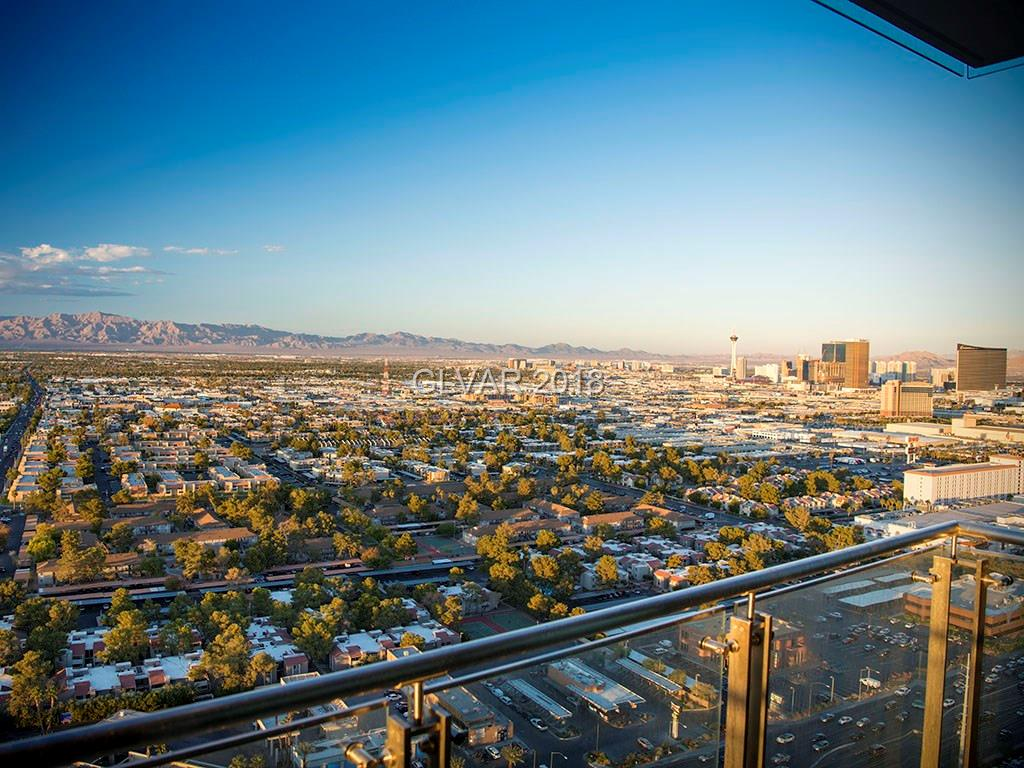 North Strip & mountain views can be seen from the wrap around balcony of this corner one bedroom condo, located in the AAA Four Diamond Palms Place Resort and Spa, just 1.2 miles from the Strip, centrally located, easy access to dining, shopping & entertainment. World class amenities incl resort spa, fitness center, & dining. Fully furnished w king bed, sleeper sofa, 2 TVs, fireplace, & stainless appliances Short-term rental options available!