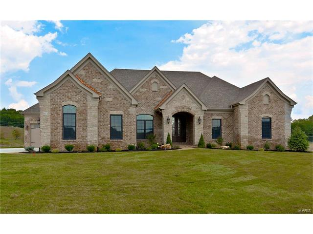 1612 Soft Rush (Lot 6) Court, Chesterfield, MO 63005