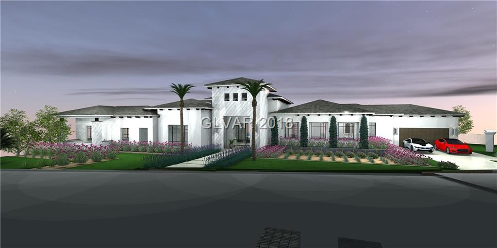The newest modern mediterranean designed residence by GLH with spectacular city views in Southern Highlands. At 8,928 SqFt this private estate has a 6 Car Garage w/fully integrated Tesla Power System and Tesla Car. Plan offers up-to 5 Bedrooms, Office, Ultra Lounge, Theater, Sleek Bar w/ Transparent Wine Room, Private Hideaway Master Retreat with Spa- Inspired Bath, Couture Style Closets, Culinary Master Style Kitchen, Automation,Resort Pool/Spa.