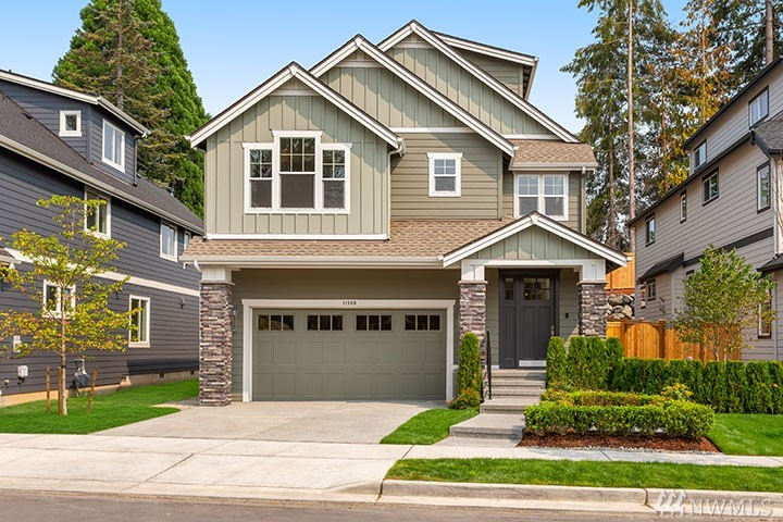 "Welcome to Hawthorne Park, Rick Burnstead's Newest Community on Education Hill. The ""CRAWFORD"" floor plan features 4/5 Bedrms, 2 full + 2 3/4 baths .Great rm & bright kitchen with Jenn-Air SS appliances, 36"" gas range, full tile backsplash & under cabinet lighting. Large center island & spacious Dining rm. Flex/bedrm & 3/4 bath on main. 4 bedrms, one with private 3/4 bath, 3rd sty. Bonus Rm. Large master and bath with free standing tub. Bright home with all the details in a Burnstead home  !"