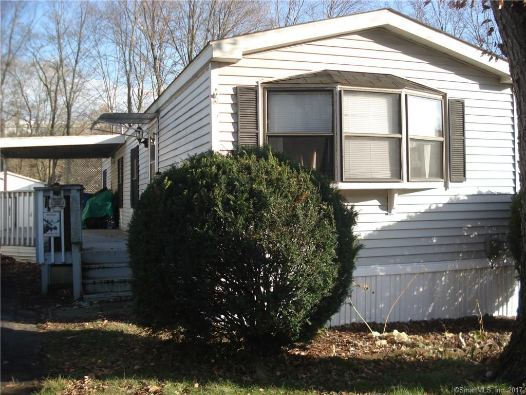 Affordable two bedroom mobile home in convenient location.  Nice Open kitchen to living room floor plan.  Has one full bath.  Washer and Dryer.  Central air.  Partially covered deck.  Shed.  subject to park approval.  This is a short sale...working with a short sale attorney.