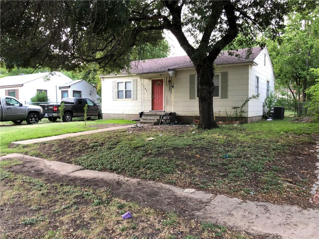 Amazing investment opportunity. Keep it for steady income or renovate. Occupied by tenant with month-to-month lease. Needs TLC. Can be purchased as a package for a discount-- 3543 Gaspar Dr Dallas, 1606 Davis Blvd Garland, 1208 Third St Irving, 10709 Cotillion Dr Dallas, 1514 Davis Blvd Garland.