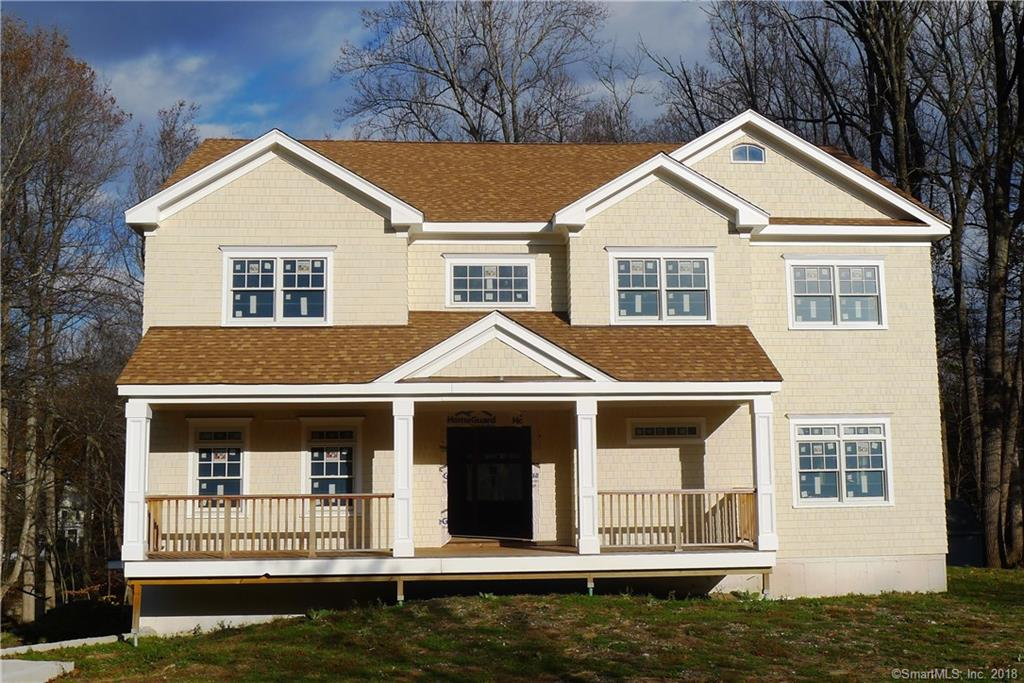 Perfectly sized smart new construction in super convenient location.  Just  few minutes to Merritt Parkway , Georgetown RR station and historic Weston Center.  High quality materials and workmanship.  Smart phone integrated with Alexa for ultimate convenience and control, Ring security system, and Tesla in-home charge station.  5 Bedrooms, 4 1/2 baths, lower level walk out Great Room with full bath and fireplace. 5TH bedroom in main floor is great as guest/nanny's room. private yard with room for in ground pool. House almost 80% finished with room for your personal touches and color selections.  Inside MUST be seen, not a drive-by. Floor plans and more photos coming soon.