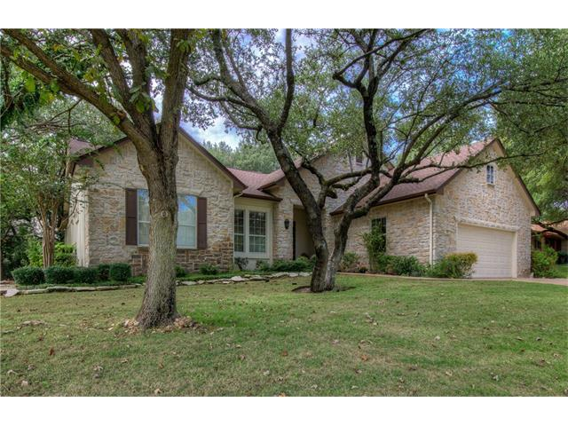 Del Webb San Marcos. Huge trees for shade to beat that Texas heat. Oversized garage-storage cabinets & room for 2 cars plus a golf cart. Tile floors in kitchen/family area, baths, bamboo floors in rest. Mother-in-law plan. Covered patio overlooks private back yard.Sun city has 3 Golf courses,Fitness centers,5 Swimming pools,12 Tennis courts, 6 Pickle ball courts,bocce courts,10 Horseshoe & Washer courts,Billiards Center,Softball field,Dog park, Woodworking shop,Fishing pond,Arts & Crafts center,Library.