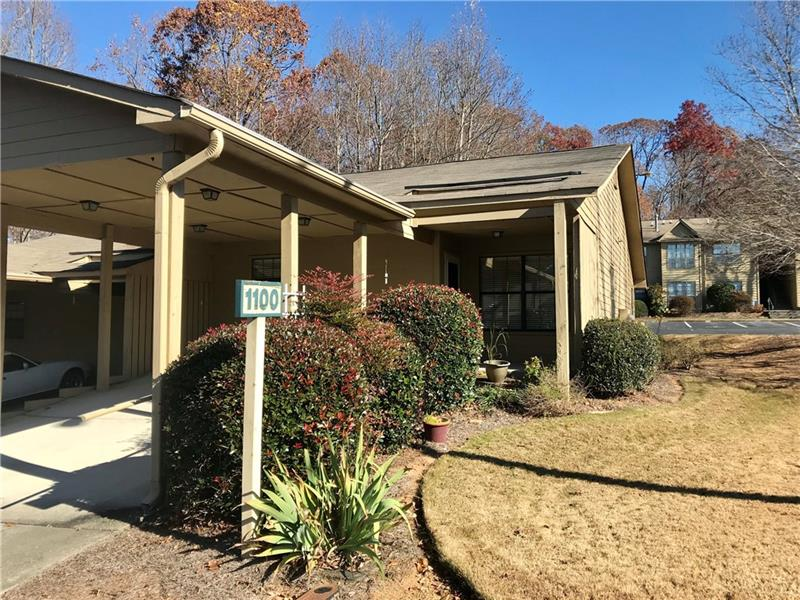 Fantastic condo just moments from shopping & downtown Gainesville. Stepless entry, large open LR/DR, situated steps away from the poool and tennis courts. This unit is unique, featuring covered parking,only 12 like this one.