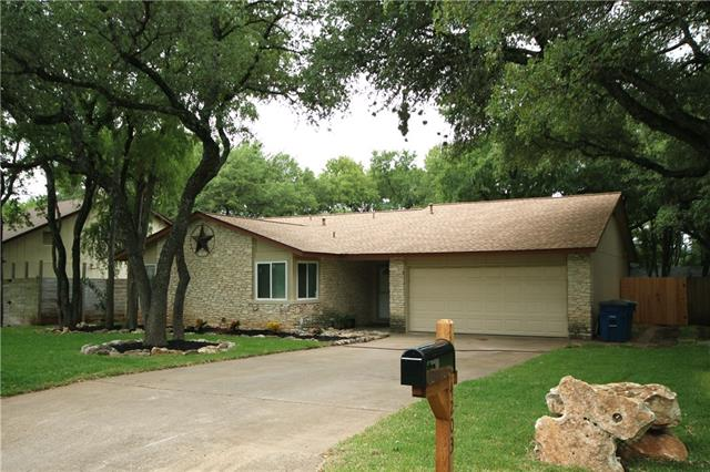 "Looks Brand New*Recently remodeled*Loaded w/ upgrades*Wood laminate & tile thru out*V.ceiling*Stone FP*Fresh 2 tone paint*New ceiling fans/front & wood interior doors*New water & light fixtures*New double pane windows & 2"" faux blinds*Recent roof*Open kitchen has butcher block counters & breakfast bar*Tile backsplash & vented range hood*Remodeled bathrooms w/ marble counters & tiled walk-in showers*His/her closets*Walk to schools/park/pool & more*Minutes from HEB/Domain/Whole Foods/Arboretum/Apple & more"