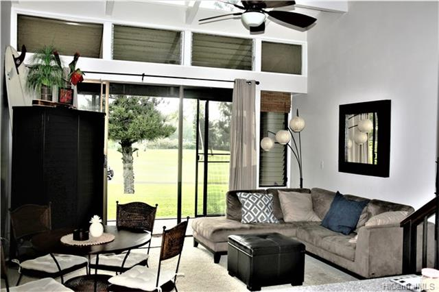 2 Bedroom with Loft, 2 Bath available.  With Views facing West and exquisite Golf Course Views.  Close to and a short walk to beaches, Turtle Bay Resort, restaurants & Golf.  Tennis, pool, BBQ all within walking distance.  Screen-enclosed Lanai.  World Class surfing just a few minutes away.