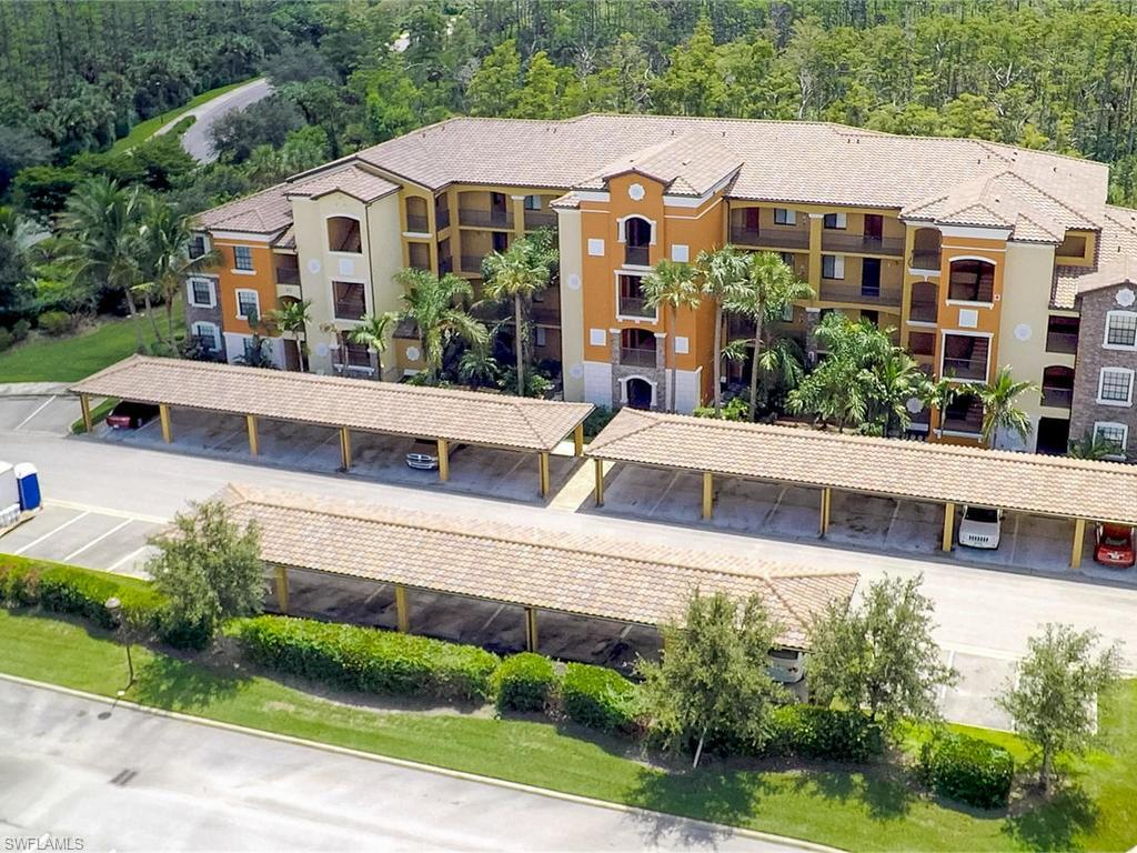 """Own your Piece of Golfers Paradise"" Beautiful 1st Floor 2 BED 2 BATH Furnished turnkey condo in the prestigious TPC ""One of Kind"" 18 hole Bundled Golf Community of TREVISO BAY in Acqua! Beautifully maintained TPC golf course designed by Arthur Hills! GOLF MEMBERSHIP INCLUDED!! Built 2013. Antonia Model Split Open Floor Plan! Eat in Kitchen Area plus Breakfast Bar! Granite Kitchen Counter Tops & Stainless Appliances. Tile & Carpet. Enjoy your morning coffee or watch the SUNSET from your own Private Screened in Lanai w/Preserve View! Master Bedroom w/Walk in closets & Master Bath w/Shower. Guest Bath w/Shower/Tub combo & Closet w/Laundry Space. Extra Storage Closet to store your Golf Clubs, Beach Chairs, Pool Toys etc. Resort Style Amenities! 55,0000 sq ft Clubhouse, state of the art Fitness Center, Pool/Spa, Restaurant & Tiki Bar, Golf, Tennis, Pickleball, Bocce & Full Service Spa! Walking & Bike Paths, Lush Landscaping. Located between downtown 5th Ave & Marco Island w/upscale Shopping, Dining, Entertainment, Galleries, Boating, Art Festivals & the Naples Beach! GREAT INVESTMENT & RENTAL POTENTIAL!"