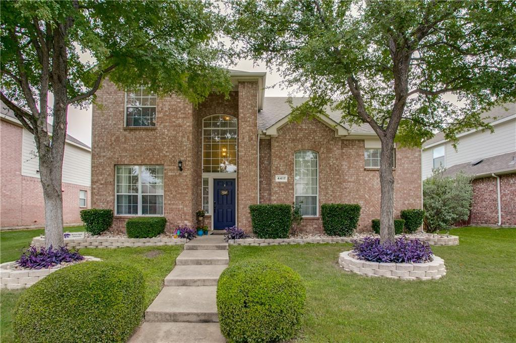 Updated and move in ready!   With the Master down and 3 bedrooms and game room up this home has a great layout and a 3 car garage.  Updates include replaced roof in 2013, replaced  upstairs HVAC 2016, Nest thermostats, gas cooktop, granite in kitchen and Rachio smart sprinkler controller.  Frisco ISD, walking distance to elementary school, community pool, playground and private lake.