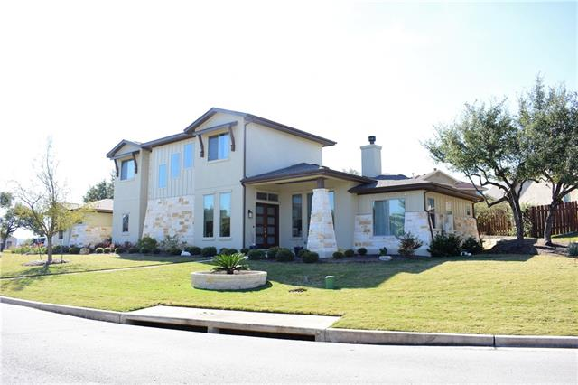 Beautiful contemporary home in The Preserve. Master & bdrm/office,2 full baths down. Gameroom,2 bdrms, 2 full baths up. New Wood Floors on lower level. Natural light with Low E windows, 2 tankless water heaters,  Kitchen features breakfast bar/center island, gas cook top, dishwasher, oversized refrigerator. Connect 4 prewired for control access w/ ipad/cell phone.  Living rm & patio speakers, Nest thermostat, Skybell, Perimeter security cameras, Custom Motorized Window Shades. Wired for pool/gas stub out.