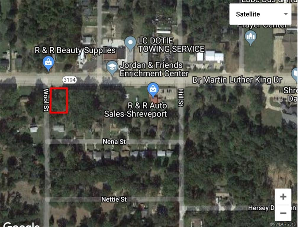 .27 Acre Lot Available off of MLK Drive and Wool Street. Could be zoned for Commercial and a great place to put a potential business.