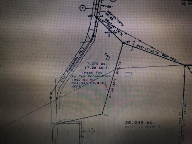 +/- 7.37 acres just west of downtown Kyle....neighboring property is Hometown Kyle subdivision and City of Kyle water well....with the new Cypress Forest subdivision across the street.  Located on Old Stagecoach Road just south of Center Street (the main street through downtown Kyle)  OWNER/AGENT