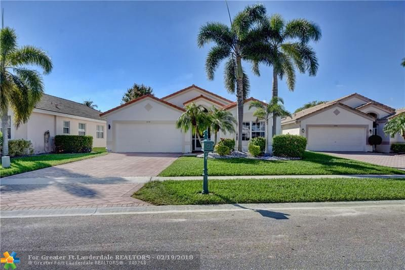 Beautiful 3 Bedroom, 2 Bath home with large yard in Crescent Lakes. Very clean & well-maintained. This bright & open floor plan has a large eat-in kitchen. Master has 2 walk-in closets, bath with dual sinks, separate tub and shower. Large screened patio and new A/C 2017. Crescent Lakes is a wonderful gated community with clubhouse, lovely swimming pool, fitness center, & 2 lighted clay tennis courts. HOA includes security gate, clubhouse, amenities, lawn & landscape, irrigation and cable.