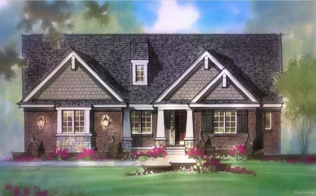 """Rare new construction single family ranch in new 18 home community surrounded by mature trees. 9 month build time.  To be built when sold.  Exceptional quality by award winning Windmill Homes of Farmington Hills. Custom kitchens by Lafata, including dovetail drawers, soft close maple doors. Appl pkg: double oven, dishwasher, gas cooktop, microwave. Homes feature 9 ft ceilings, Solid core doors, cased arches. Granite and ceramic tile in all baths &  laundry. 2 car side entry garage. 3 & 4 car option avail on select home sites Your choice of 3"""" solid oak or 5"""" engineered floors Lighting allowance for your personal selection plus recessed. Come see why our premium included package ranks in the top of the industry. Customization of plans/ features available. Other plans available. Buyers agent to verify all info. Not ready for the restrictions of condo living? This home is for you!"""