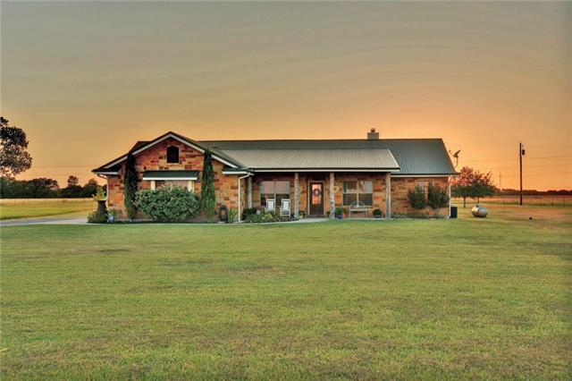 Amazing 5-acre homestead! This stunning home has it all! Large metal building/workshop w/ metal rolling door, 4 horse stalls, & a 1-car carport. 3beds+office. Make delicious food in the spacious kitchen that offers granite counters, stainless steel & a stunning backsplash. Relax in the large master that offers an attached bath w/double vanity & walk-in shower. Venture outside to the HUGE backyard & enjoy the stunning sunsets & views of the expansive fields! Several outdoor living off of the home/workshop!