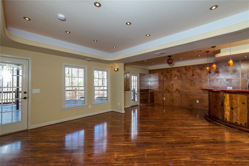 Very spacious, open concept that provides endless possibilities for entertaining!