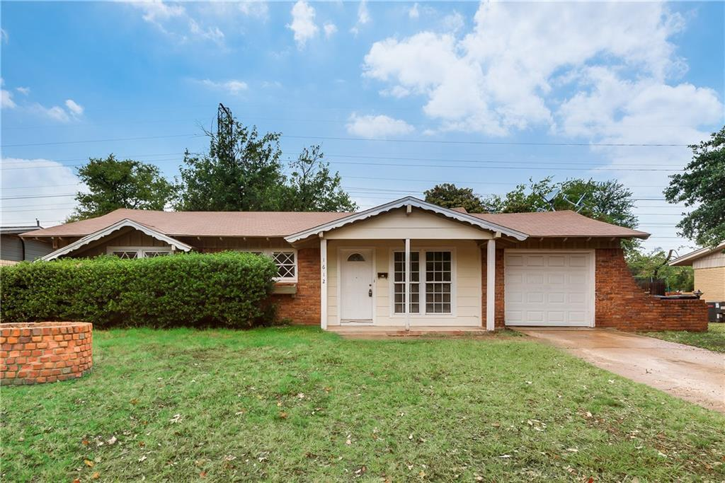 TENANT OCCUPIED UNTIL JUNE 30TH   This 3 bedroom, 1.5 bath home has been recently been repainted inside. It has stainless steel appliances, 2 living areas, one car garage, fenced backyard with large trees. One of the living areas features cathedral ceilings with skylights. This home is a must see!! Available July 2018