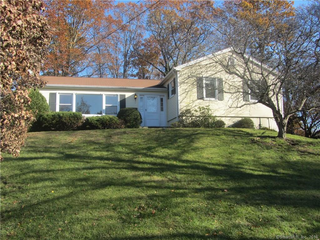 A well maintained spacious house on an oversize lot. Sits atop a gentle rolling knoll with walk out patio and back yard.Move-in condition. Superb in-town location on cul-de-sac off Mallard Drive. Complete privacy. All within walking distance to Greenwich Avenue, Julian Curtiss Elementary and Greenwich High School. Lots of opportunity to expand or build a new custom home. R-7 zone (.36 FAR multiplier), maximum FAR approximately 6,300 square feet.