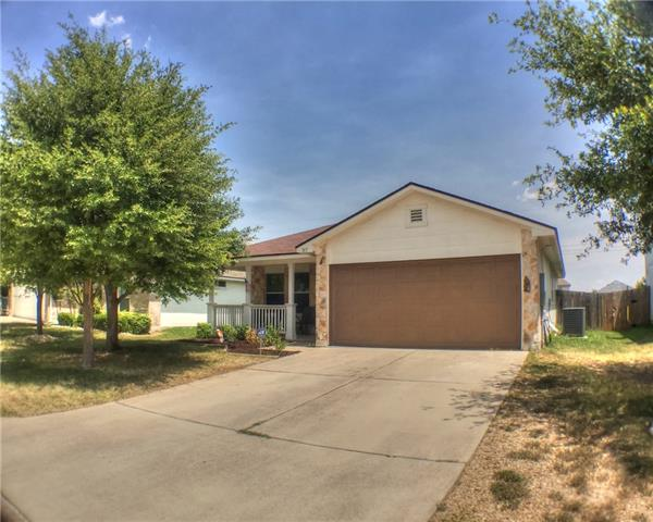 Perfect starter home. Well maintained 3 bedroom, 2 bath home in developing Sonterra West subdivision. Peaceful with no backing neighbors! Easy access to I35. Just minutes from Jarrell Elementary School. Mexicano Grille & Bar and Jarrell Town Center and Food Court also only minutes away!