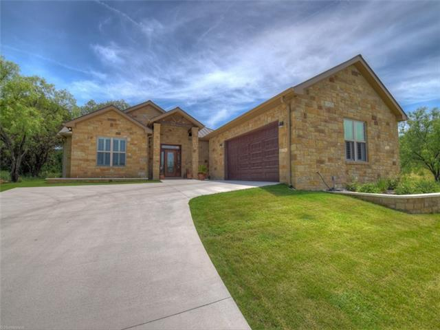 This beautiful home rests on the 6th fairway of Apple Rock Golf Course. It offers a large open living, kitchen and dining space.  Custom cabinets, granite counter tops, stainless appliances, walk in pantry and a large island is every Chef's dream. Sliding glass doors opens up to covered patio, great for entertaining .  The sequestered master area offers bathroom with double sinks, soaking tub and large walk in closet. Quality built home, plantation shutters, and tile floors makes for easy maintenance!